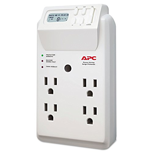 Price comparison product image SurgeArrest Surge Protector, 4 Outlets, 1020 Joules, White