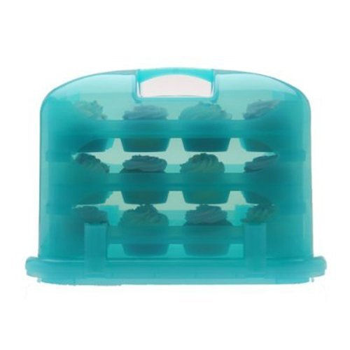 Cupcake Courier FBA_G0213B Cupcake Carrier-Sky Blue, Soft