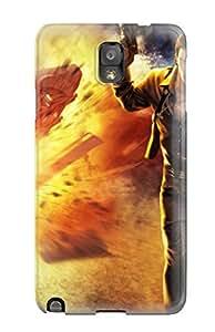 GDOUbxn2883hHWwr Case Cover Protector For Galaxy Note 3 Men Destroing A Car Case