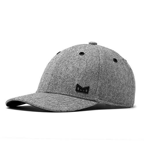 ys Wool Strapback Hat One Size Grey ()