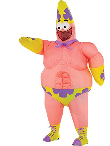 Rubie's Costume Spongebob Sponge Out of Water Patrick Star Inflatable Child Costume ()