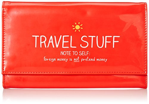 Happy Jackson Travel Document Holder, Red (Jackson Locks)