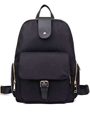 Luckysmile Water Resistant Nylon Backpack Purse School Bag for Women & Girls