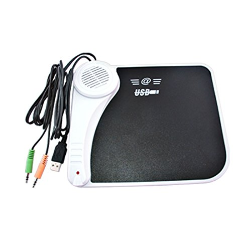 Music Mouse Pad with Speaker & Microphone & USB Port & Midi Jack