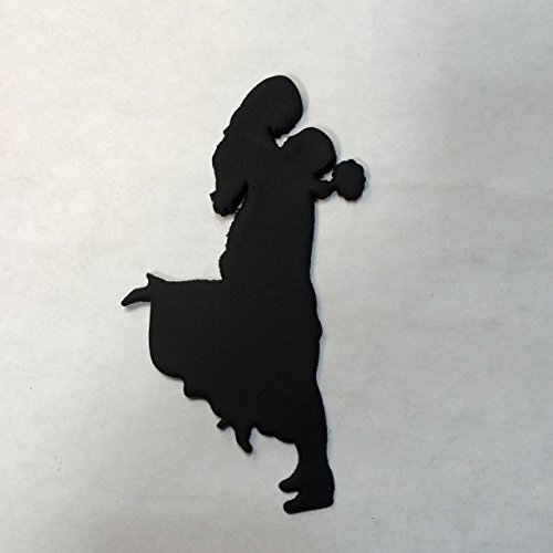 Bride & Groom Silhouette Cookie Cutter (4 Inches)
