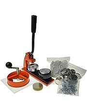 Enterprise Products - Micro - Máquina de chapas - Con 500 piezas y cortador circular - Troquel intercambiable de 38mm
