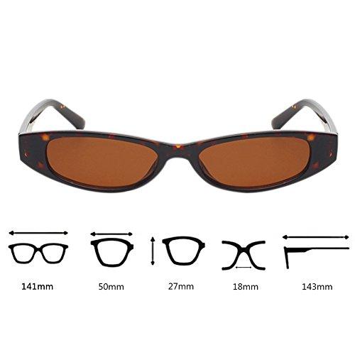 Carey Gafas de tamaño Con de de ligero de pequeñas de pequeño UV400 de Gafas Concha marco sol gato Gafas protección Vintage ojo Gafas 16rtR6q