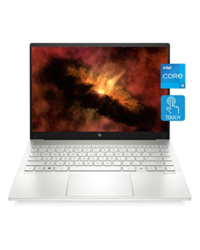 "HP Envy 14 Laptop, NVIDIA GeForce GTX 1650 Ti, 11th Gen Intel Core i5-1135G7 Processor, 16 GB RAM, 256 GB SSD Storage, 14"" Full HD Touchscreen, Windows 10 Home, Fingerprint Reader (14-eb0010nr, 2020)"