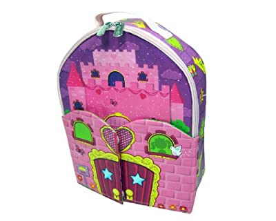 Neat-oh Zipbin Doll House Bring-along Backpack Colors And Styles Of Doll May Vary by Neat-Oh