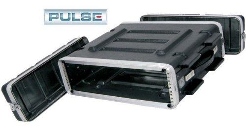 Pro Audio DJ Stackable ABS Rack Mount Flight Case Stackable Electronic Equipment Case- Two Rack Spaces 2RU - Pro Stackable