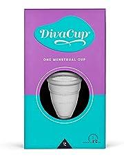 DivaCup - Menstrual Cup - Feminine Hygiene - Leak Free - BPA Free - Model 2