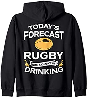 [Featured] Funny Rugby Lover Gift Rugby Clothing Rugby Zip Hoodie in ALL styles | Size S - 5XL