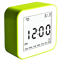 Digital Alarm Clock Battery Operated Great Bedside Alarm Clock for Kids or Adult Best for Travel or Home Clocks
