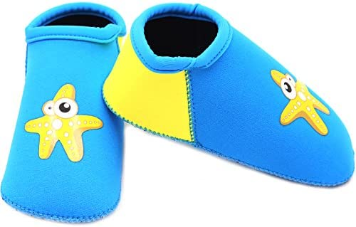 Cheekaaboo Kids Neoprene Beach Socks Aqua Barefoot for Boys and Girls 1-6 Years BS-SPC-PARENT
