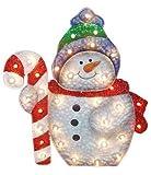 36'' Snowman/Candy Cane