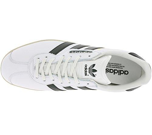 Tobillo Super gum Hombre Blanco White Gazelle Black adidas Vintage bajo core qExnFv5