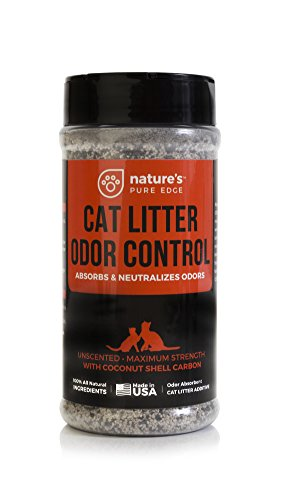 Nature's Pure Edge Cat Litter Deodorizer - Non-Toxic Odor Neutralizer, 16oz (Clean Cat Litter Deodorizer)