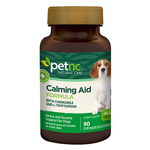 PetNC Natural Care Calming Aid Chewables for Dogs, 90 Count