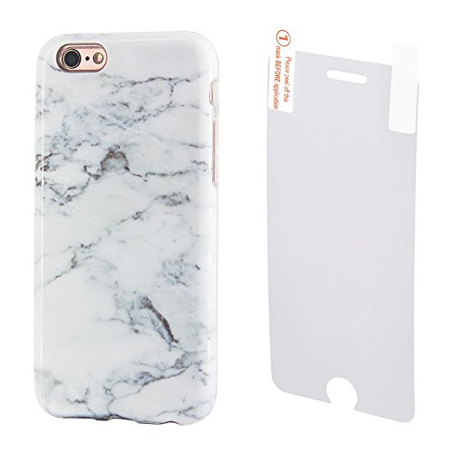 Marble iPhone Protective Tempered Protector