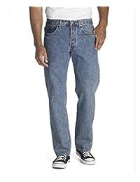 Levi's 501 Original Fit Jean Jeans para Hombre, Azul (Medium Stonewash), 34x32L