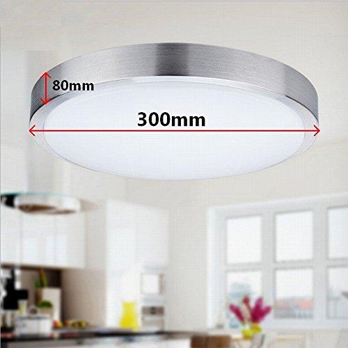 SAILUN 15W LED Panel Warmweiß Moderne Deckenlampe Wandlampe ...