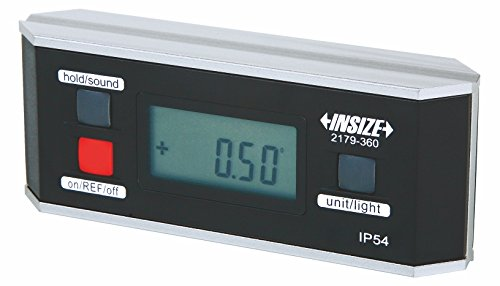 INSIZE 2179-360 Electronic Level and Protractor 0 Degree - 360 Degree