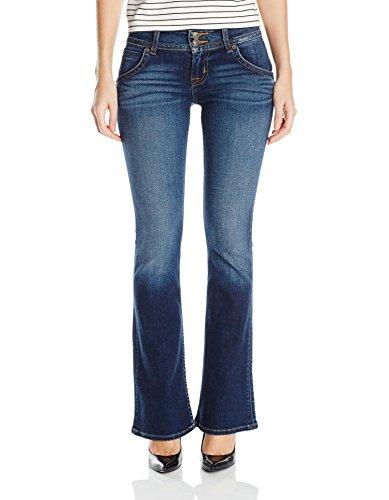 Hudson Jeans Women's Petite Size Signature Bootcut Flap Pocket Jean, Patrol Unit 2, 31