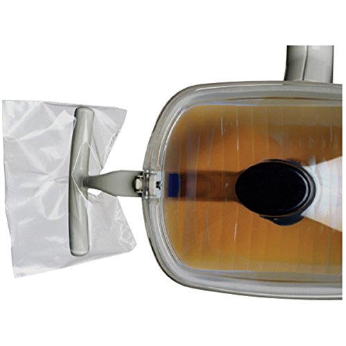 Defend Light Handle Sleeve 4'' X 5.75'' Clear 500/bx by DEFEND