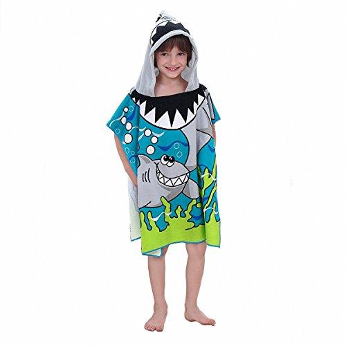 kid boys hooded beach towel - 9