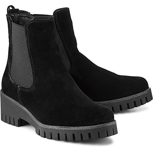 25401 21 Chelsea Noir Femme 39 Tamaris Pour Noir Eu Boots 6Aad7qSw