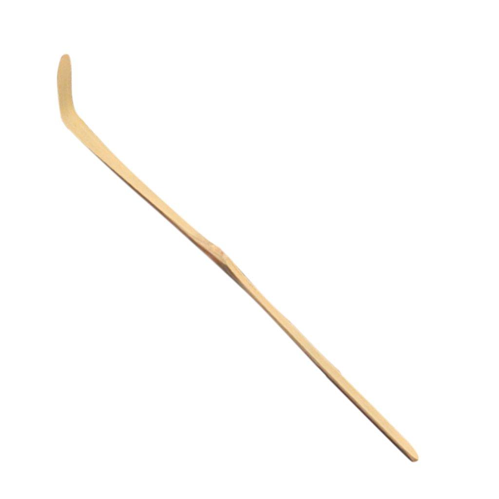 1Pcs Tea Ceremony Accessory Bamboo Teaspoon Matcha Tea Powder Scoop 2 Kinds - WHT Wood, 17.5x3x3cm Generic