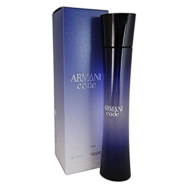 Giorgio Armani Code Eau de Parfum Splash Women, 2.5 Fl Oz