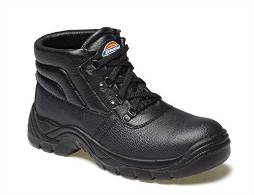 Dickies Sikkerhet Boot Sort Chukka Super Redland Cw0rqCa