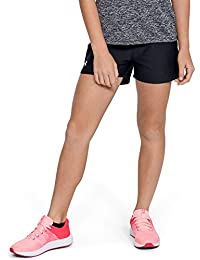 Girls' Play Up Workout Gym Shorts