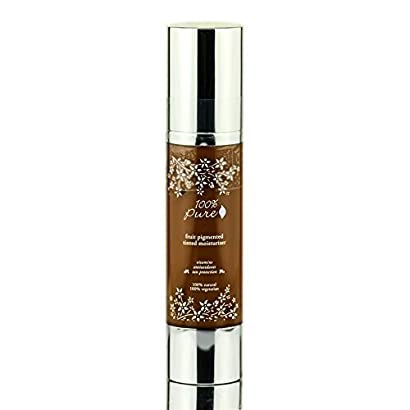 100% Pure Tinted Moisturizer With Sun Protection Cocoa, 1.7 Fluid Ounce 41oC8vDVl1L