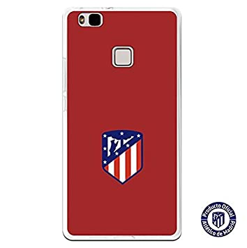 Atlético de Madrid Carcasa Escudo Sobre Fondo Rojo Huawei P9 ...