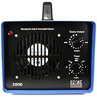 Ozone Choice 3500 Professional Grade Ozone Generator - 3 Ozone Plates