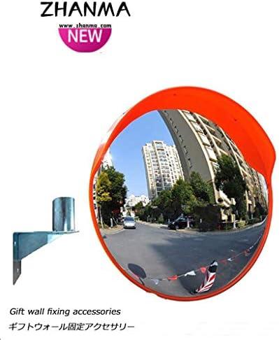 カーブミラー アウトドア交通安全ミラー45センチメートル道路広角凸面鏡コーナー曲面ミラー凸面鏡盗難防止ミラー、取付金具を送ります RGJ4-12 (Size : 800mm)