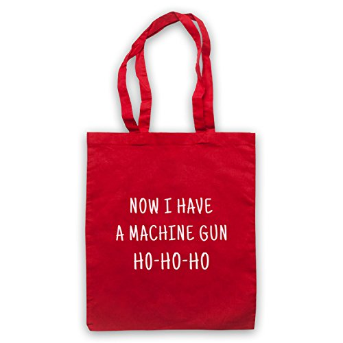 Die Hard Now I Have A Machine Gun Ho Ho Ho Bolso Rojo