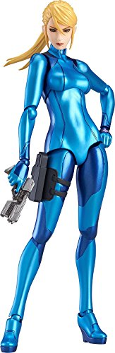 - Max Factory Metroid: Other M: Samus Aran Figma Action Figure (Zero Suit Version)