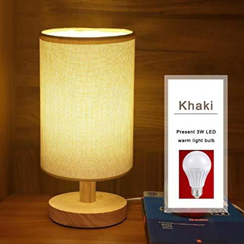 Lámparas Lámpara de mesa simple Lámpara de mesa de noche con ...