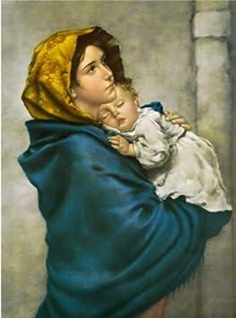 Arte Classica Poster #001 # cm 70x100 Roberto Ferruzzi La Madonna ...