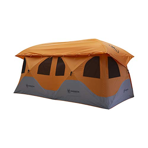 Gazelle GT800SS T8 Extra Large 4 to 8 Person Capacity Family Portable Instant Pop Up Outdoor Shelter Camping Hub Tent…