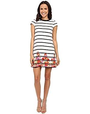 Jessica Simpson Womens Printed Textured Knit Dress JS6D8490