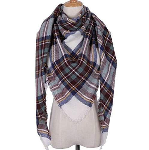 per Lattice inverno Off White l'autunno 140cm Scarf Women Cashmere Sciarpe Amdxd wOXqTRx