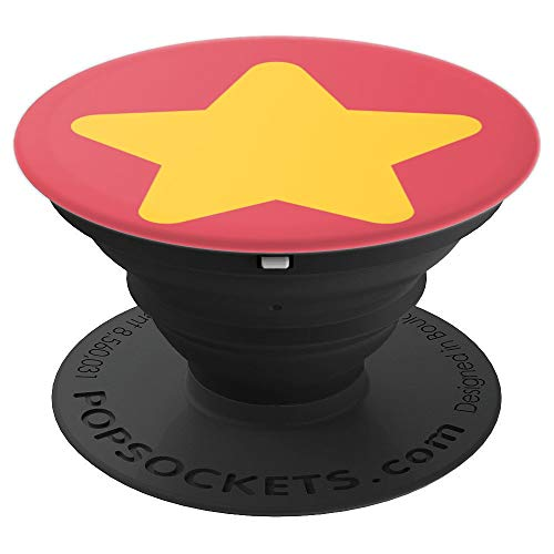 Star Cosplay Costume - Halloween Universe Pink Gem - PopSockets Grip and Stand for Phones and Tablets -