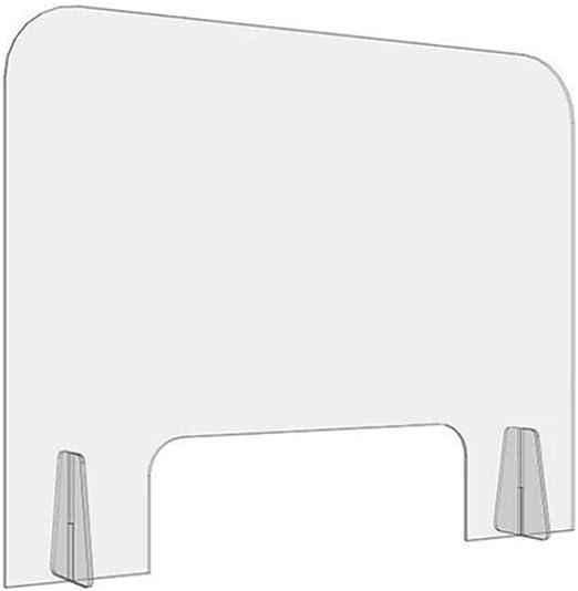 HSBAIS Mampara De ProteccióN, Acrílico mostrador con ventanilla ...
