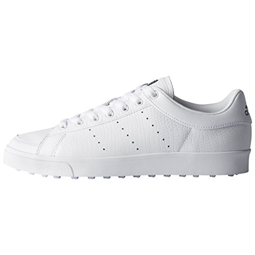 Adidas Golf 2018 Mens Adicross Classic Leather Spikeless Shoes - Wide Fitting White/Core Black hmSxbRuSY8