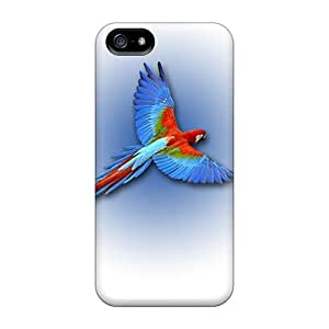 New Iphone 5/5s Cases Covers Casing(parrot)