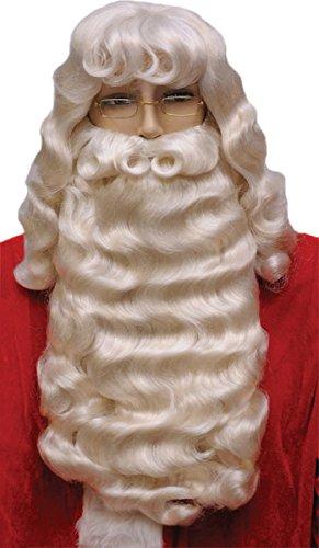 Supreme Santa Wig and Beard Set White